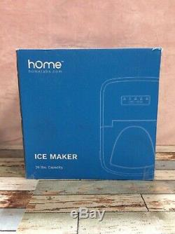HOmeLabs Portable Ice Maker Machine for Countertop Makes 26 lbs of Ice
