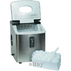 Igloo ICE103 Counter Top Ice Maker Stainless Steel