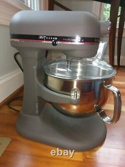 KitchenAid 6-Qt Professional 6 Series Stand Mixer Imperial Gray Bowl Lift KP2671