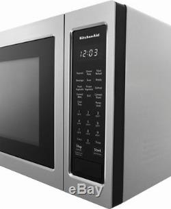 KitchenAid KMCC5015GSS 1.5 CF. 1000W Stainless Steel Convection Microwave