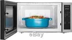 KitchenAid KMCS3022GSS 2.2 CF. 1200W Stainless Steel Finish Sensor Microwave