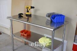 Kitchen Stainless Steel Table Cabinet Storage Counter Top for Restaurant