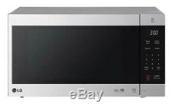 LG NeoChef 2 cu. Ft. Countertop Microwave with Smart Inverter Stainless Steel