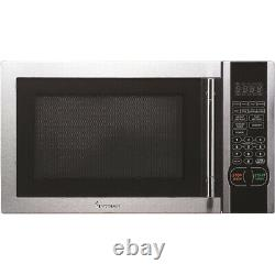 Magic Chef 1.1 Cu. Ft. 1000-Watt Microwave Oven in Stainless Steel MCM1110ST
