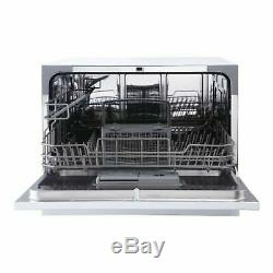 Magic Chef 6 Place Setting Countertop Portable Dishwasher Kitchen Best Rated New