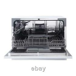 Magic Chef Energy 6-Place Setting Compact Countertop Portable Dishwasher