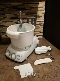 Magic Mill Assistent DLX 2000 Professional Counter Top Mixer With Accessories