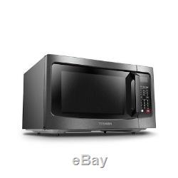 Microwave Oven Toshiba Stainless Steel Convection Cooking Reheating Functions