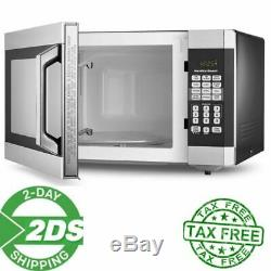 Microwave oven Hamilton Beach 1.6 Cu. Ft. Touch Screen Digital, Stainless Steel