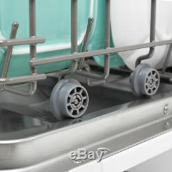 Mini Compact Countertop 6 Wash Cycles Dishwasher Machine Stainless Steel- Silver