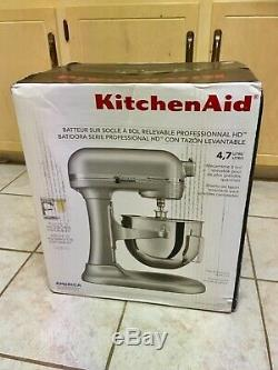 New in Box Gift KitchenAid Professional HD Stand Mixer, Chrome