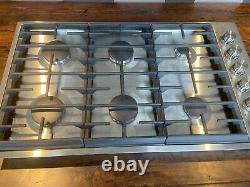 New jenn air 2017 stainless steel gas stove top 30x36
