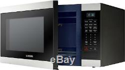 Open-Box Excellent Samsung 1.9 Cu. Ft. Full Size Microwave Stainless steel