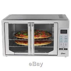 Oster Digital Extra Large French Door Countertop Toaster Oven Stainless Steel
