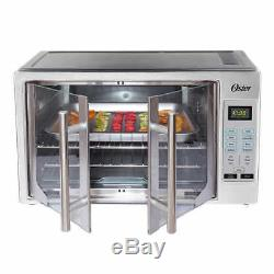 Oster Digital French Door Counter Top Stainless Steel Oven with Convection Oven