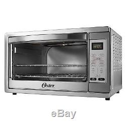 Oster Extra Large Digital Countertop Fast Heat Convection Oven Stainless Steel