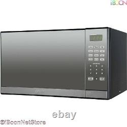 Oster Microwave Oven CounterTop Stainless Steel Mirror Digital 1.3 ft with Grill