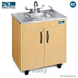 Ozark River Portable Sink Stainless Steel Countertop Basin Hot Water Hand Sink