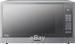 Panasonic 2.2 CuFt Countertop Microwave Oven with Inverter, NN-SN97HS F/S