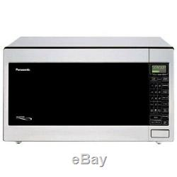 Panasonic 2.2 Cu. Ft. 1250 W Microwave, Stainless Steel Distressed Pkg New