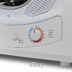 Portable Electric Clothes Dryer Small Front Loading Laundry Machine Countertop