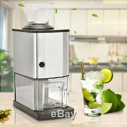 Portable Small Ice Cube Maker StainlessSteel Kitchen Countertop Electric Machine