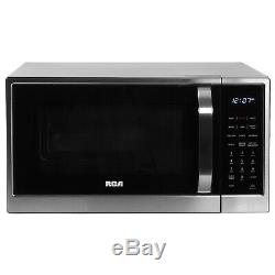 RCA 1.2 Cu Ft Microwave with Air Fryer and Convection Stainless Steel RMW1205