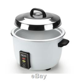 Rice Cooker 60 Cup Commercial Countertop Kitchen Nonstick Cooking Pot Heavy Duty