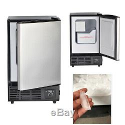 SMAD Portable Mini Ice Maker Cube Machine Built-In Undercounter Party Bar Home