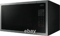 Samsung 34L 1000W Stainless Steel Microwave Oven Ceramic Interior ME6124ST-1
