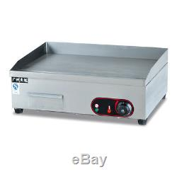 Stainless Steel Commercial Electric Countertop Griddle Grill Flat Top Thermomate