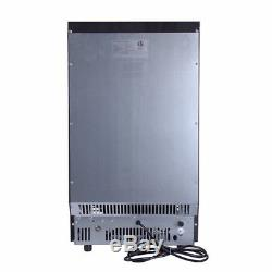 Stainless Steel Commercial Ice Maker Cube Undercounter Freestanding Machine Bar