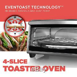Stainless Steel Convection Countertop Toaster Oven Baking Cooking Black Decker