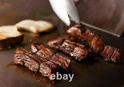 Techtongda Commercial Kitchen Countertop Flat Griddle Grill 2800PA LP Gas