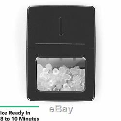 Vremi Countertop Ice Maker Ice Cubes Ready in 9 Mins Makes 26 lbs Ice in 24 Hrs