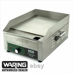 Waring WGR140 Commercial Electric Countertop Griddle 14 X 16 120V Genuine 1800