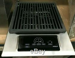 Wolf 15 Stainless Steel Electric Grill Module IG15S