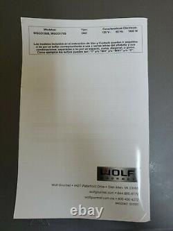 Wolf Gourmet Wgco150s Elite Counter Top Convection Oven Used