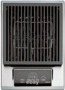 Wolf IG15/S 15 Electric Grill Module with Two Independent Heating Elements