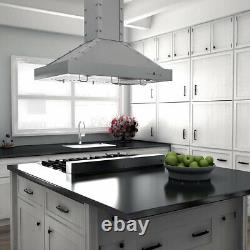 ZLINE 36 Italian Porcelain Rangetop with 6 Gas Cooktop Burners, Stainless Steel